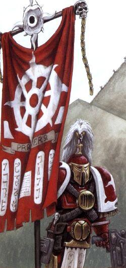 Brother Amsu-Legio Standard Bearer