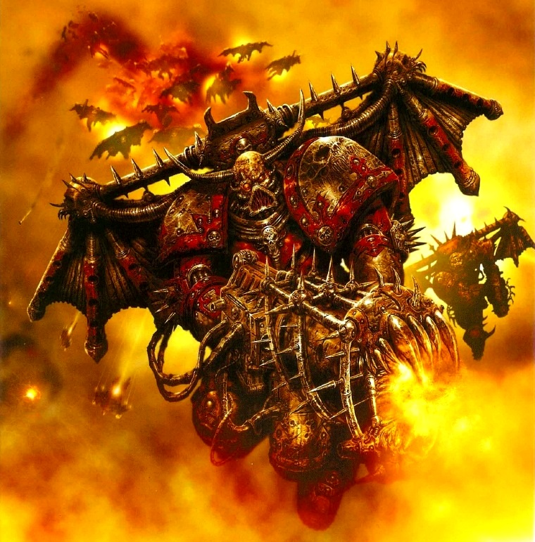 Warhammer 40k Chaos Space Marines: Chaos Space Marine Raptor