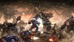 Eternal War CF vs. Orks luches