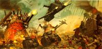 Killa Kans vs. Vostroyan Regiment