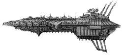 Desecrator Class Battleship