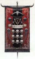 142nd SA Cohort Chtonian Head-Hunter Banner