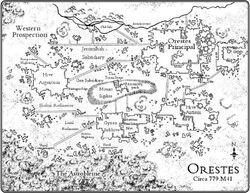 Map Orestes