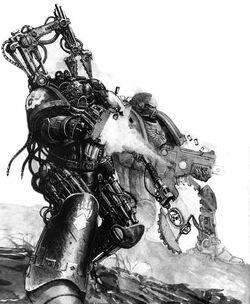 Iron Father combat