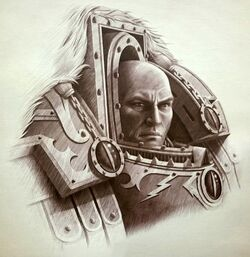 Warmaster Horus Remembrancer Sketch