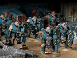 Bullgryns battle