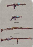 Skitarii Weapons 3