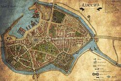 Luccini Tilea city map