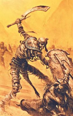 Warhammer Tomb Kings Tomb Guard Art