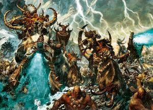 Warhammer Ogre Wallpaper