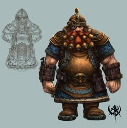 Dwarf male and female
