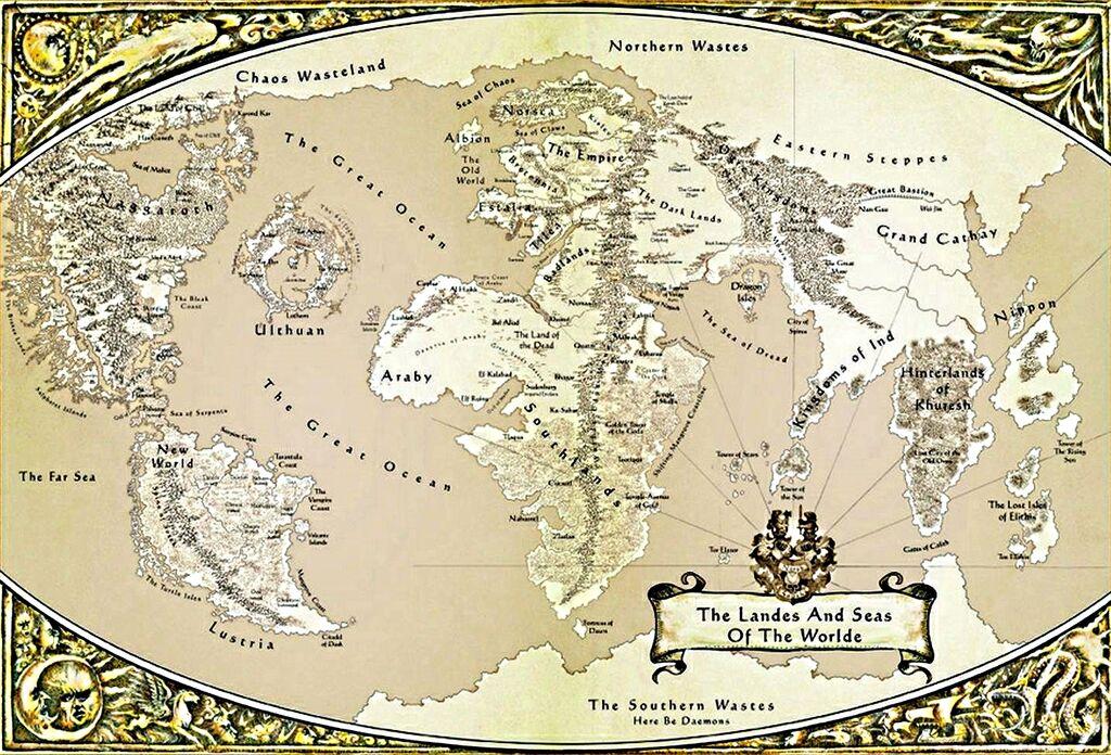 Ye Olde Inn  View topic  World MapPoster