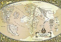 Warhammer olde world map