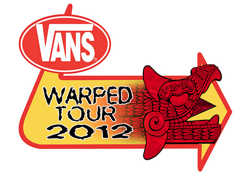 Image result for Vans Warped Tour 2012