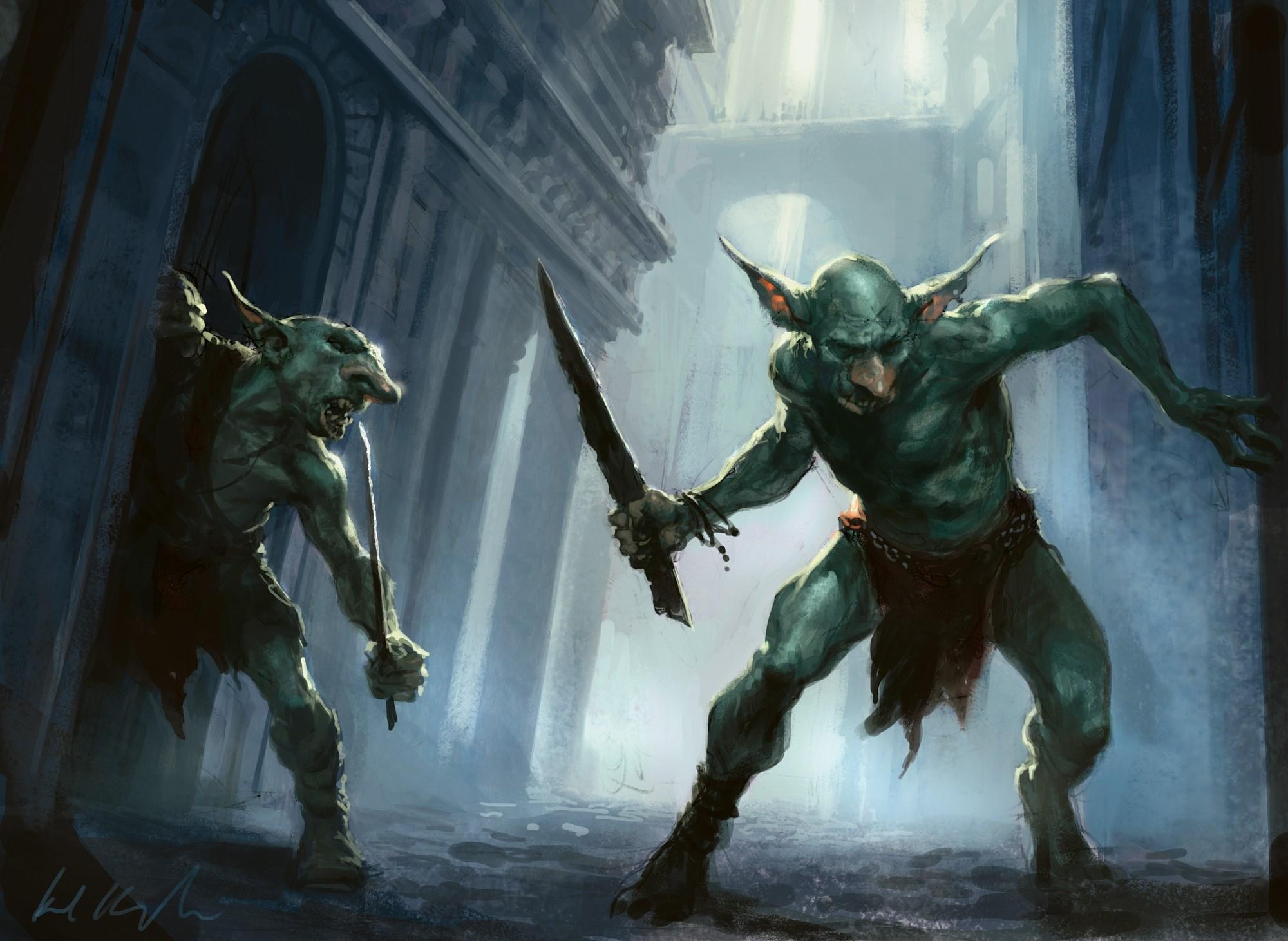 Goblin gang 3d sexy image