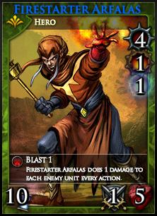 Firestarter Arfalas