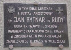 Aleja Niepodległości (nr 159, tablica).JPG