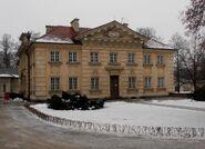 Pałac w Wilanowie (kordegarda)