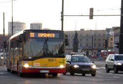 Plac Bankowy (autobus 111).JPG