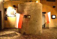 Replika bunkra Muzeum Powstania Warszawskiego