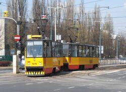 Aleja Jana Pawła II (tramwaj 35).JPG
