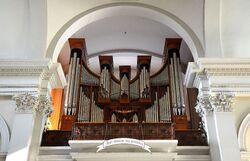 Organy kościół Wszystkich Świętych.JPG