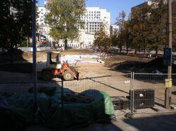 Plac Grzybowski (przebudowa).JPG