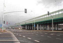 Trasa Mostu Północnego, Marymoncka 2.JPG