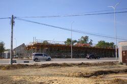 Modlińska, Trasa Mostu Północnego (budowa).JPG