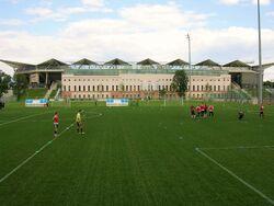 Stadion Wojska Polskiego od strony ulicy Myśliwieckiej.JPG