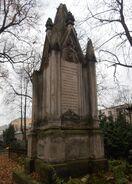 Cmentarz Ewangelicko-Augsburski (nagrobek M. Hubego)