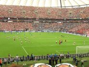 Stadion Narodowy (Euro 2012, rozgrzewka)