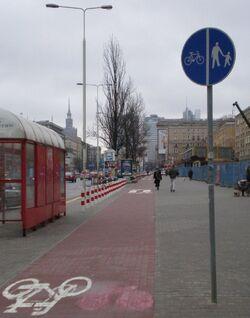 Jana Pawła II (ścieżka rowerowa).JPG