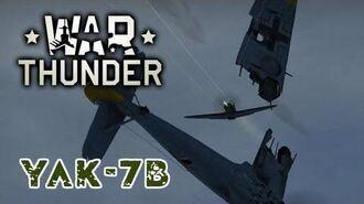 War Thunder - Soviet Yak 7b - Soviet firepower is BEAST