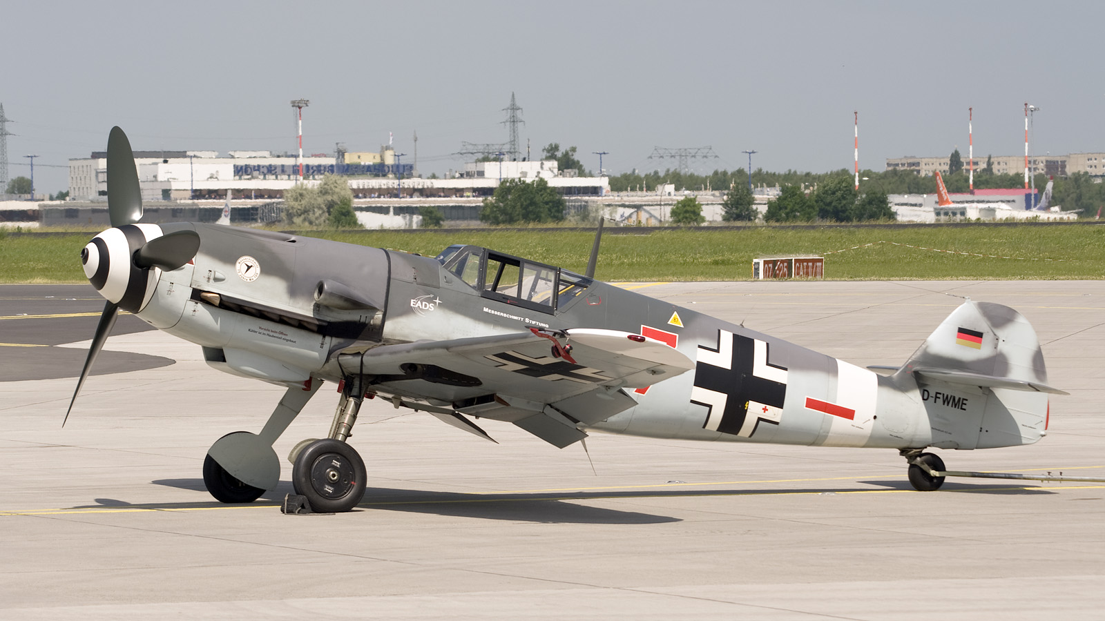 Flying Heritage Collection - Messerschmitt Bf 109 E-3 (Emil)