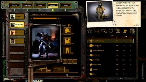 Wasteland 2 Inventory Demo