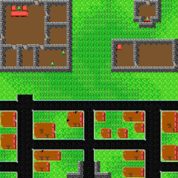 Darwin Village map