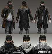 Watch Dogs Aiden Pearce Art