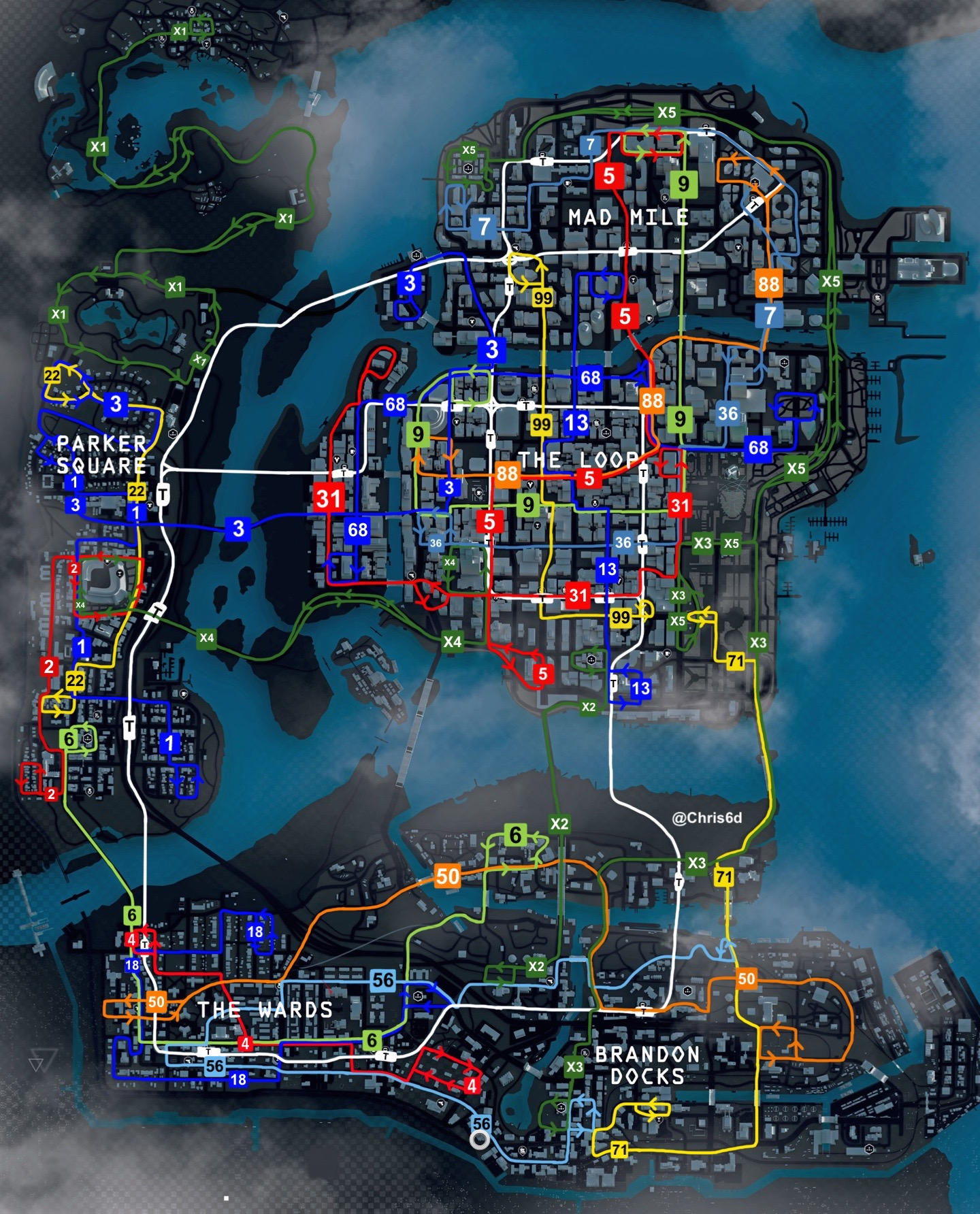 Watch Dogs Map Chicago