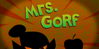 Mrs. Gorf (episode)