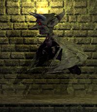 Winged gargoyle