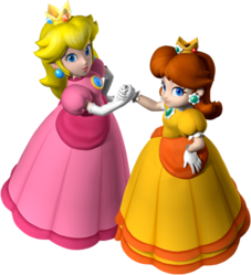 peach and daisy relationship