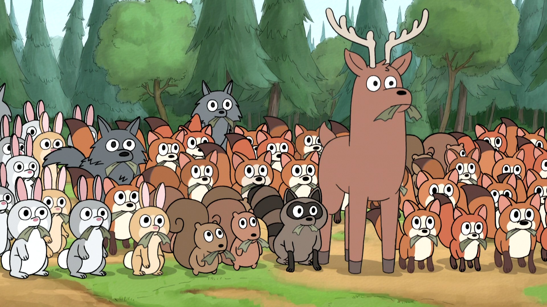 The Wildlife - We Bare Bears Wiki - Wikia