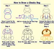 How to Draw a Cheeky Dog
