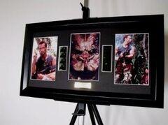 Predator Movie Film Cell Schwarzenegger Framed