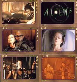 Alien 3 Card Set