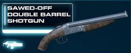 Sawed-Off Double Barrel Shotgun