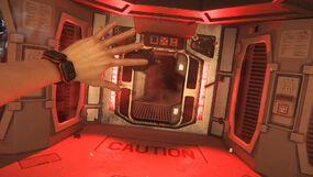 Airlock alien isolation