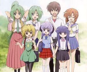 Higurashi main characters
