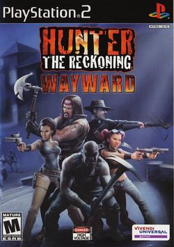 Hunter The Reckoning - Wayward cover ps2 usa